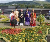 古都彩る菊人形 奈良BTで開催