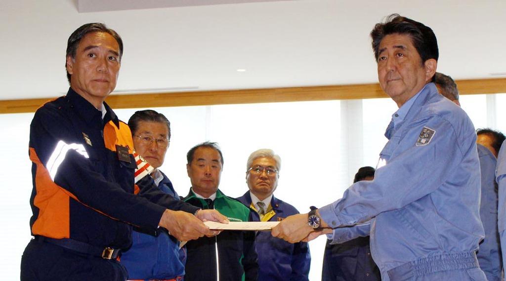 【台風19号】長野知事、安倍首相に生活再建など緊急要請