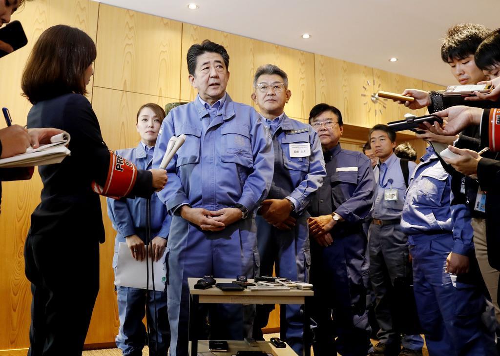【台風19号】首相、生活再建策とりまとめ指示 5千億円を確保