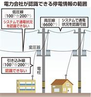 【台風19号】停電おおむね復旧、15号の教訓で人員5倍 「隠れ停電」続く可能性