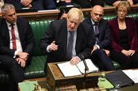 英離脱再び迷走 反対派動議可決…ジョンソン首相窮地に