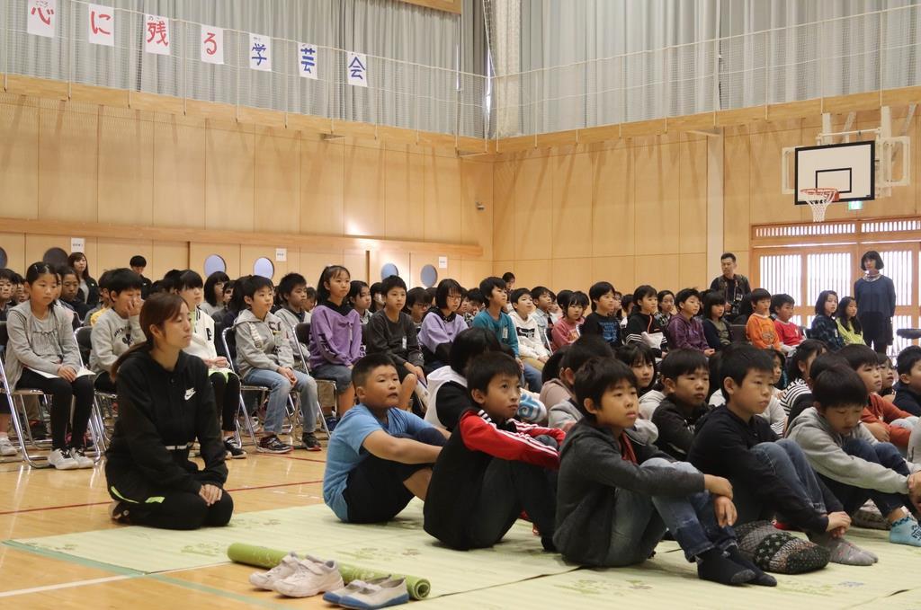 【台風19号】浸水被害の宮城・大郷町で学校再開 児童、笑顔で…