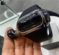 フルワイヤレスイヤフォンを内蔵できるスマートウォッチ登場