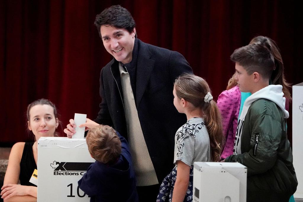 カナダ総選挙 投票始まる 環境問題など争点 対中も懸案