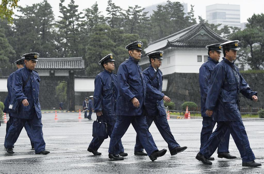 警視庁、都心厳戒態勢 部隊2万人、全国から応援