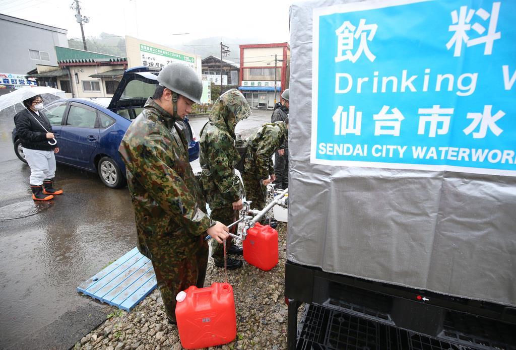 【台風19号】長引く断水 住民に募る苛立ち「いつまで続くのか…