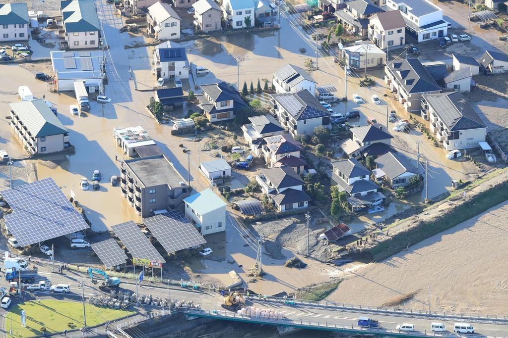 【台風19号】栃木の浸水家屋1万9千棟、11道路なお寸断 県…
