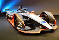 日産のレーシングカー、デザインは「着物」から フォーミュラE