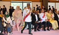 即位礼正殿の儀参列者は1999人 海外は191カ国・機関