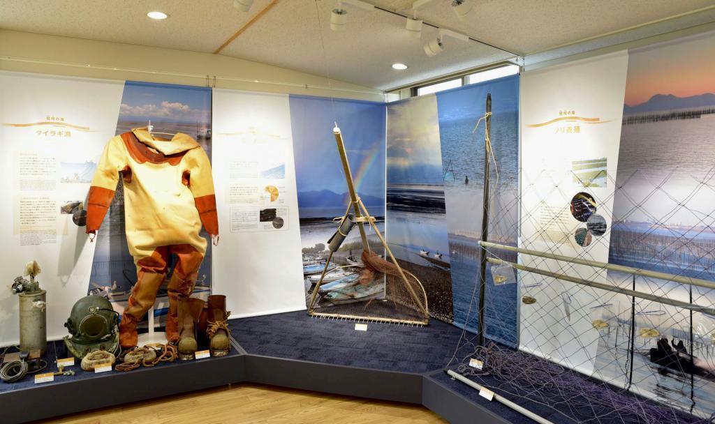 熊本県荒尾市に開館した「荒尾干潟水鳥・湿地センター」(同市提供)