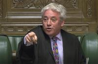 英EU離脱案、採決また先送り 下院議長認めず 英議会
