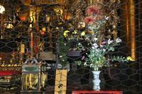 京都で「祝いのいけばな」華道家元池坊
