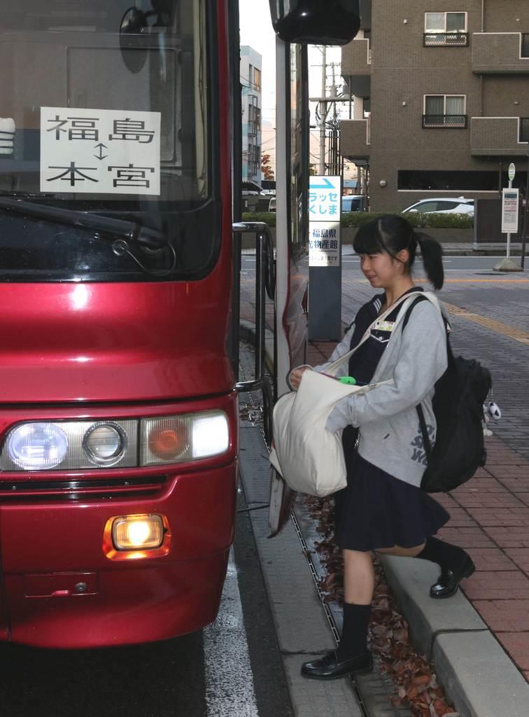 【台風19号】スクールバス運行開始 福島・通学困難な県立高校…