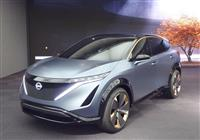 【東京モーターショー】日産次期EVはSUV型2モーター四駆? 「アリア コンセプト」