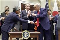 日米貿易協定承認案 車関税で攻防激化 24日審議入り