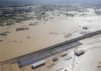 長野知事が台風被害で要望 官房長官に千曲川復旧など