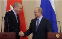 クルド勢力国境撤退で合意 露、トルコの要求受け入れ
