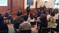 韓国首相、請求権協定「今後も尊重し守る」慶応大で交流会