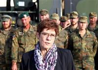 シリア「安全地帯」に欧州参加構想 独が提案 NATO協議へ