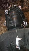 【石仏は語る】東大寺・狛犬 中国・宋の石工が制作 奈良市雑司町
