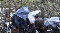 台風被災地で大雨警戒 千葉県鴨川市で85・5ミリ