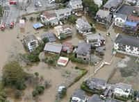 千葉豪雨、死者8人に 土砂災害、河川も氾濫 避難1800人