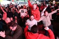 【ラグビーW杯】英メディア、NZ撃破に「史上最高の日」と称賛