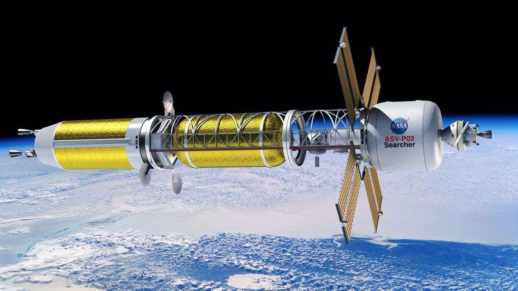 宇宙用原子炉を搭載したロケットなら火星までの移動時間が半分近くに短縮されるだけでなく、火星での活動に必要な電力も賄うことができる。IMAGE BY NASA