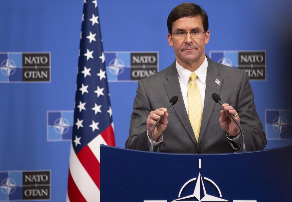 エスパー米国防長官(AP)