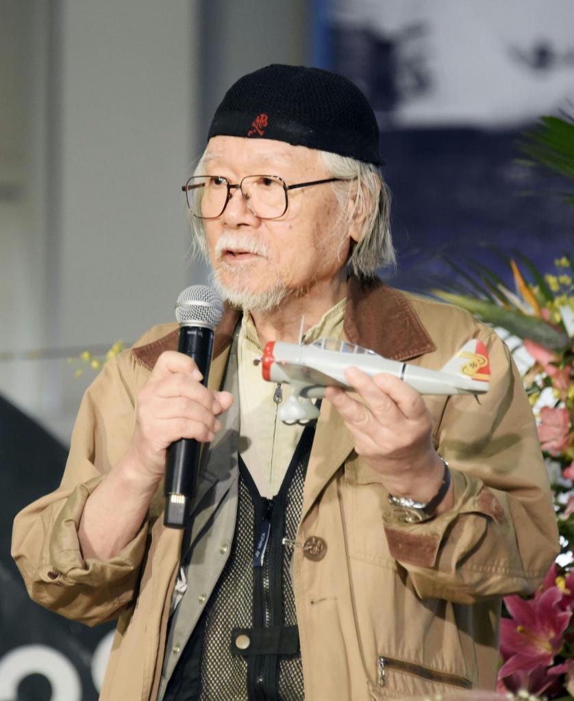 父との思い出を語る松本零士さん