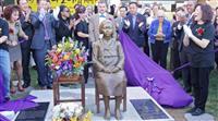 米ワシントン近郊で慰安婦像の除幕式 全米で5体目