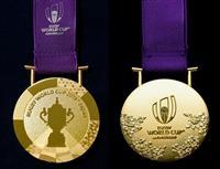 メダルのデザイン公表 ラグビーW杯日本大会