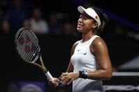 大坂、右肩負傷で棄権 テニス・WTAファイナル