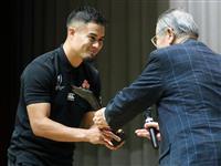 ラグビーW杯日本代表、台風被害の復旧作業に参加