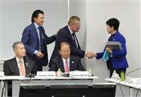 小池都知事「東京開催望む」 IOCは4者トップ級会談も提案