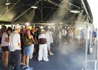 日よけテント、大幅増へ 東京五輪、暑さ対策拡充