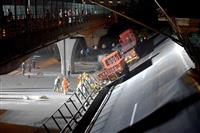 【中国ウオッチ】すさまじい過積載で高架崩落 経済苦境で違法行為が横行