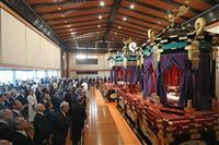 駐日大使ら参列し饗宴の儀 陛下「世界の平和を切に祈ります」
