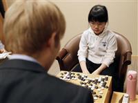 囲碁の仲邑菫初段が男性棋士に5連勝