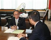 沖縄・玉城知事、衛藤担当相に協力要請