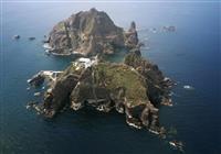 竹島付近で韓国ヘリ墜落 7人搭乗、安否は不明