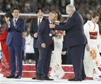 安倍首相、ラグビーW杯決勝戦を観戦