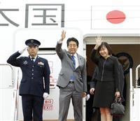 安倍首相、バンコクへ出発 4日に中国・李克強首相らと会談へ 韓国・文大統領とは予定なし