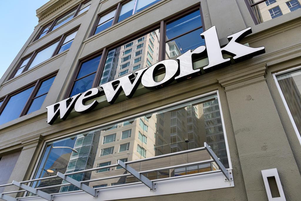米ウィーワークが運営するオフィス=9月30日、サンフランシスコ(ロイター)