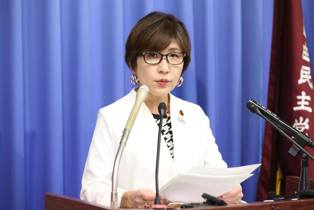 自民党の稲田朋美幹事長代行=10月、国会内(春名中撮影)