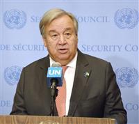 パリ協定履行の決意不変 国連事務総長