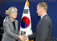 GSOMIA維持要請か 米国務次官補が韓国外相らと会談