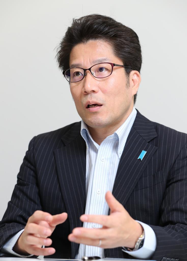 横田拓也さん(佐藤徳昭撮影)