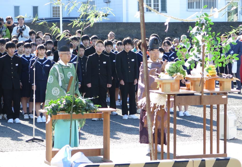 和歌山県広川町で営まれた「津浪祭」