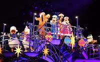 東京ディズニーリゾートで8日からクリスマスイベント